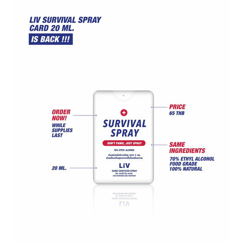 Liv - Survival Spray