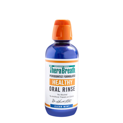 Thera Breath - Healthy Gums Oral Rinse Clean Mint (น้ำเงิน)  / 473ml