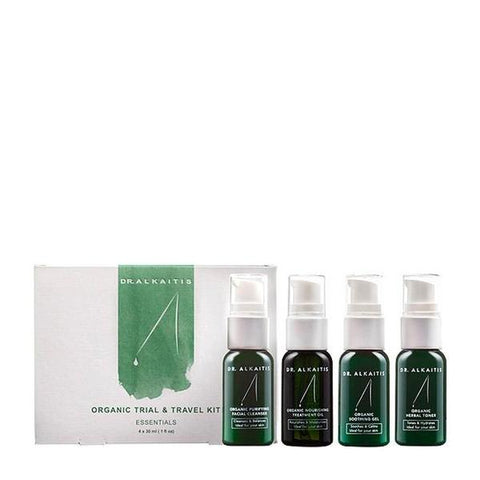 DR.Alkaitis - Organic Trial & Travel Kit / 4*30ml.