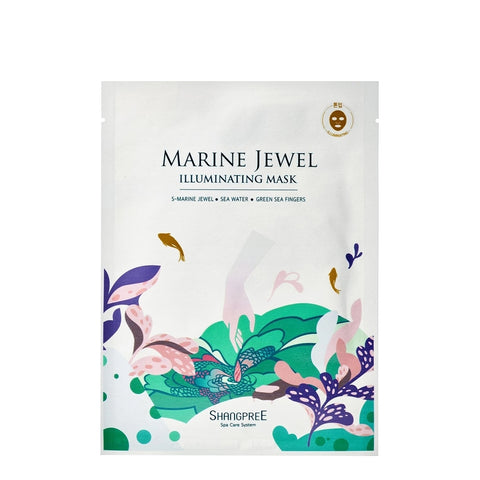 Shangpree - Marine Jewel Illuminating Mask / 5x30ml