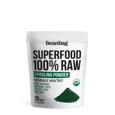 Beanbag - Superfood 100% Raw #Spirulina Powder / 20*5g