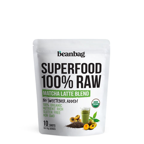 Beanbag - Superfood 100% Raw #Matcha Latte Blend / 10*15g