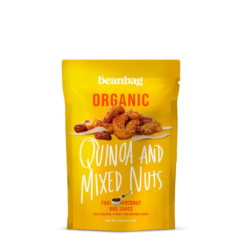 Beanbag - Quinoa And Mixed Nuts #Thai Coconut BBQ Sauce / 100g