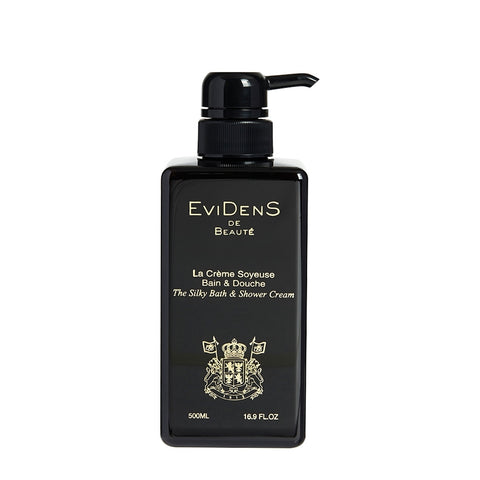 Evidens - The Silky Bath & Shower Cream / 500ml.