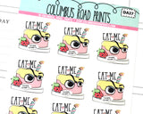 [DA27] EAT ME - DECO - PLANNER STICKERS