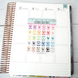 [DA36] PHONE - ICONS - PLANNER STICKERS