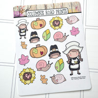 November Deco Stickers
