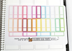 [PC005] Pastel Labels, multicolor labels