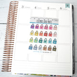 [DA38] SHOPPING BAG - ICONS - PLANNER STICKERS