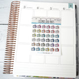 [DA42] TV ICON - ICONS - PLANNER STICKERS