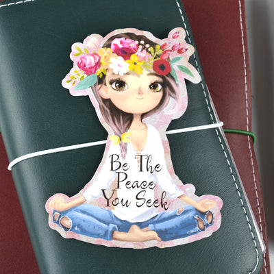 Be The Peace You Seek Die Cut