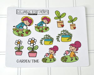 Garden gal sampler sheet