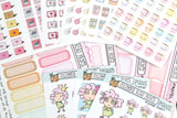 [ICP002] EXPLOSIVE ICON, pastel cartoon bombs, pastel planner stickers - ColumbusRoadPrints
