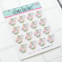 [DA26] UNICORN FART - DECO - PLANNER STICKERS