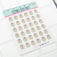 [DA20] TRASH - DECO - PLANNER STICKERS