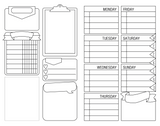 FREE PRINTABLE! POCKET (FIELD NOTES) INSERT FOR TN