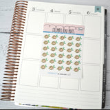 [DA43] SQUEEZE - ICONS - LEMONS - PLANNER STICKERS