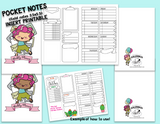 FREE PRINTABLE! POCKET (FIELD NOTES) INSERT FOR TN - ColumbusRoadPrints
