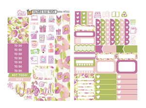 "2 Sheet Quick Kit ""Petals"" 2QK06 - ColumbusRoadPrints"
