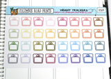 [IC009] Weight trackers, weigh-in planner stickers, scales