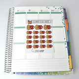 DECO - Coffee Sloth - ET012 Planner Stickers