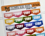 [SC004] Study Flags, School study stickers