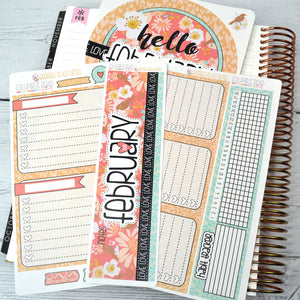 NOTES KIT - Georgia Peach -February 2019 Collection