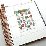 "[DE03A] DECO - ""Sweater Weather"" - Planner Stickers"