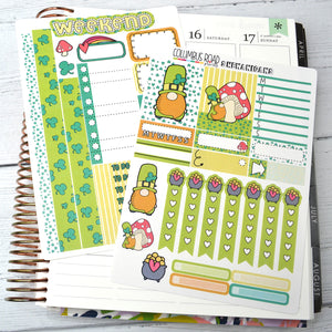 VERTICAL -- St. Patty's Day -- 2 Sheet Quick Kit, Vertical 2 Sheet Quick Kit, fits Vertical EC 7x9, St. Patrick's Day kit