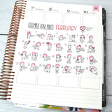 WACKY HOLIDAYS -  FEBRUARY 2019 Wacky Holidays - all planners