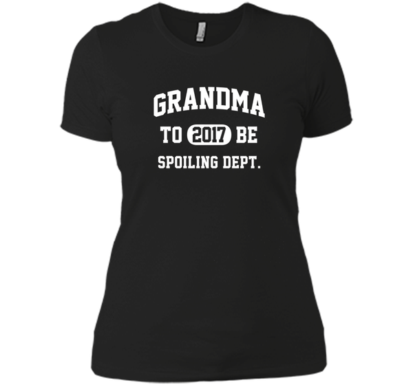 Grandma-To-Be 2017 Spoiling Dept. T-Shirt
