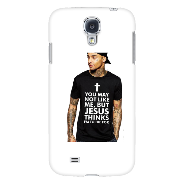 You May Not Like Me But Jesus Thinks I'm To Die For Phone Case - Ballooo