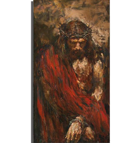 Ecce Homo Grande by Anatoly Shumkin. Print on Canvas - Ballooo