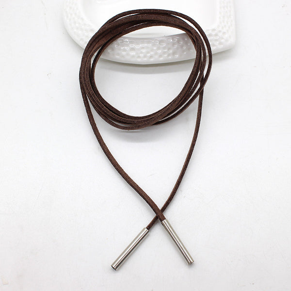 Long Leather Choker - Ballooo