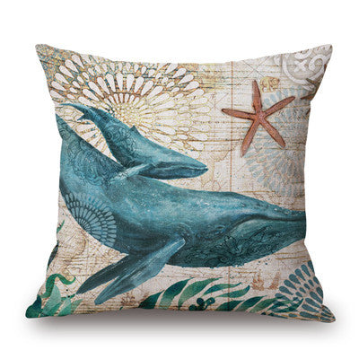 Underwater Themed Cushioned Covers - Ballooo