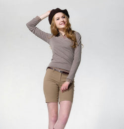 Jane Dress-Khaki-S