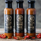 The Ripper Hot Sauce 17/10 BURN