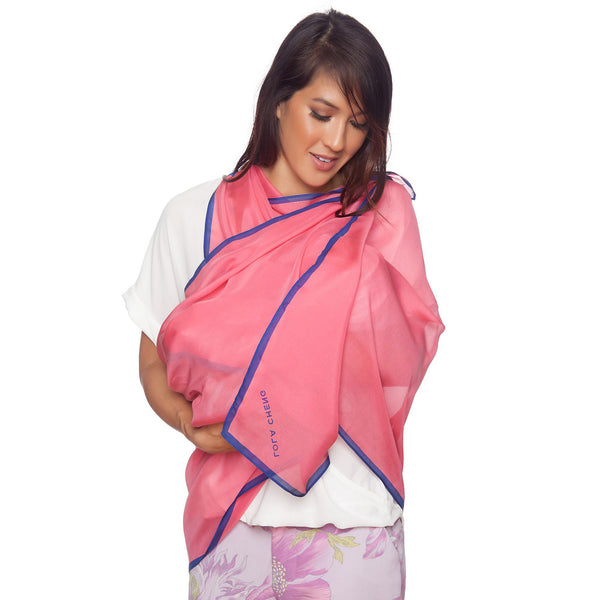 Lola Cheng 100% Mulberry Silk Nursing Privacy Cover - Best Gifts for Mother's Day