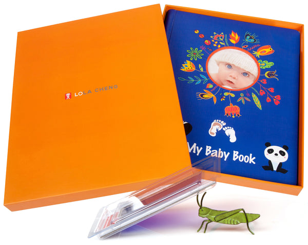 Best Baby Album and Memory Book Gift Set - Best Shower Gifts for Baby
