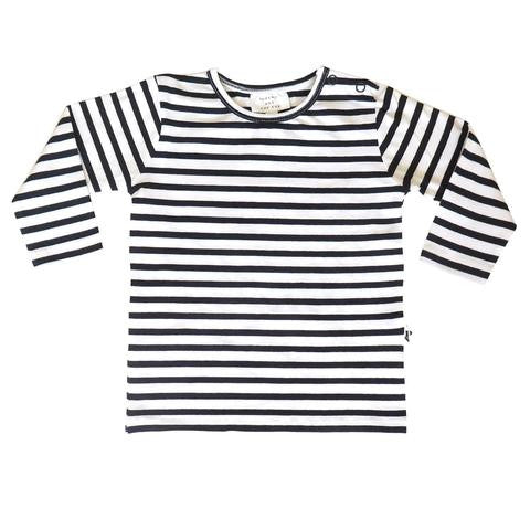 Baltimore Tee - Bonjour Paris Stripe