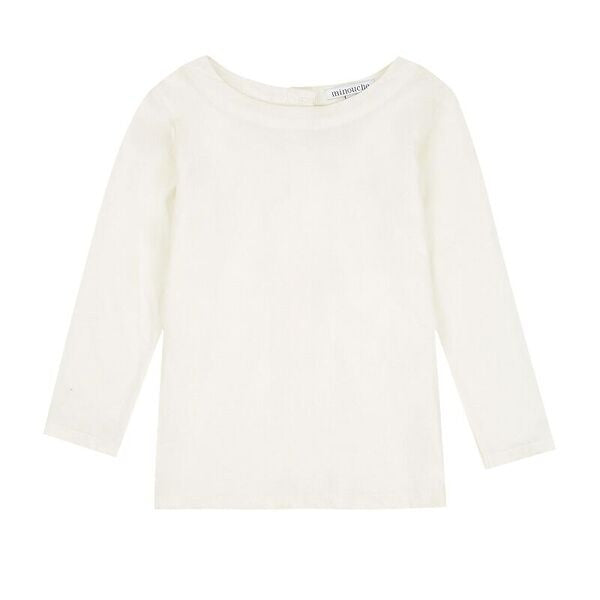 Sophie tee – winter white