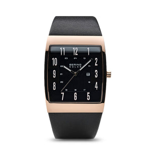 Bering Men Watch Solar | polished Rose Gold | 16433-462