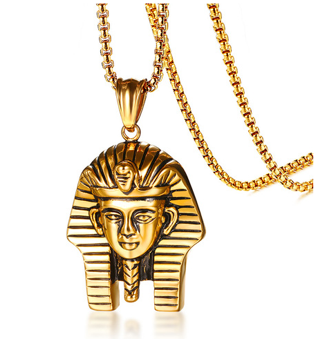Gold Ip Pharaoh Necklace