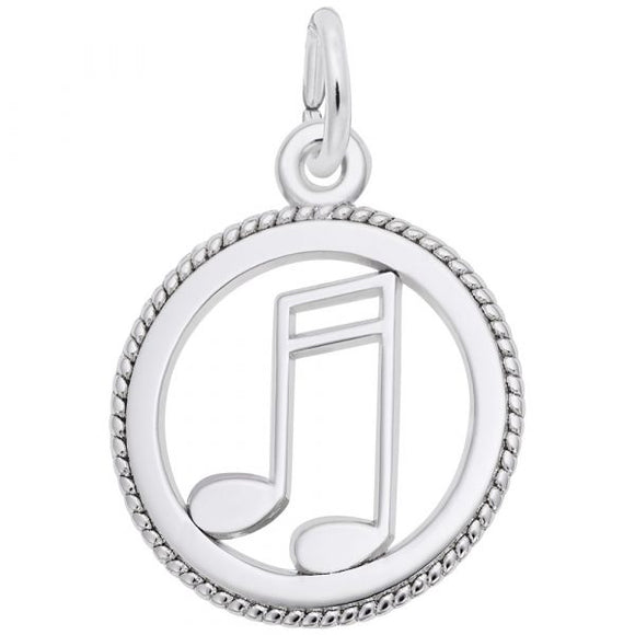 Nuco-Music Note Disc Pendant