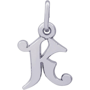 Silver Initial K
