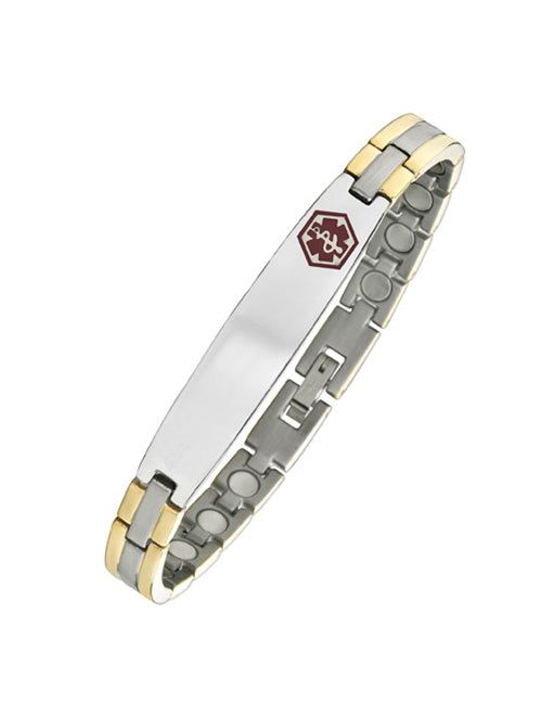 Rose Magnetic Medical ID Bracelet
