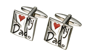 I LOVE MY DAD CUFF LINKS
