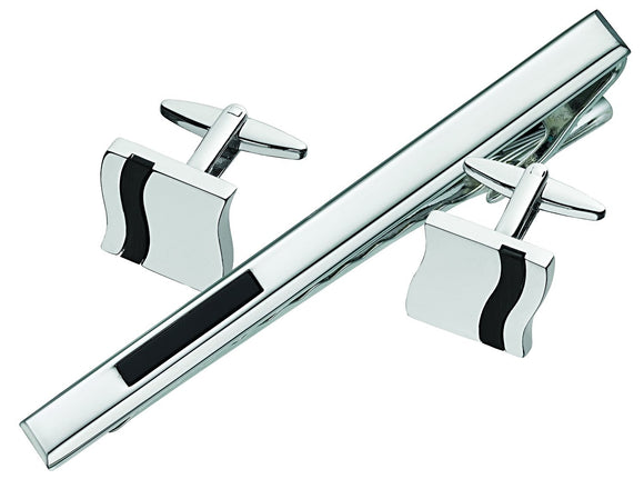 Cufflink and Tie Bar Set