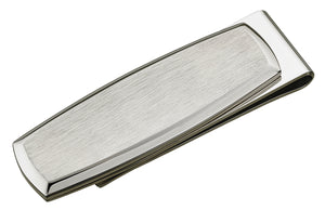 PLAIN STAINLESS STEEL MONEY CLIP