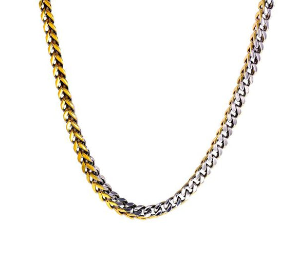 Two Tone Franco Chain 24